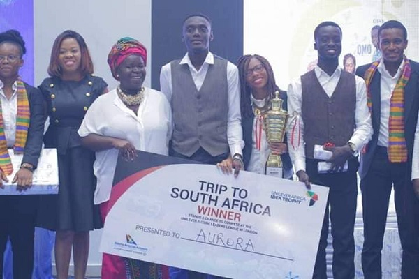 UMaT Students Win the Unilever Africa Idea Trophy Competition