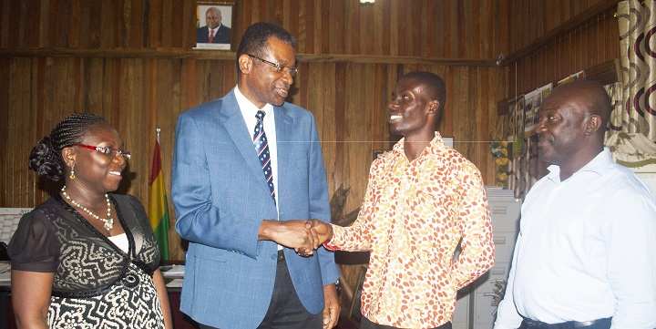 Samuel Otu Tops the Vice Chancellor's List
