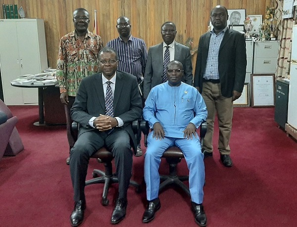 Western North Regional Minister Pays a Familiarisation Visit to UMaT