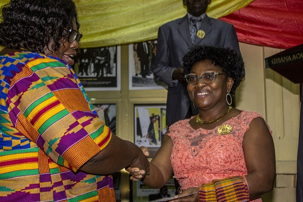 Assoc Prof Grace Ofori-Sarpong Inducted into the  Ghana Academy of Arts and Sciences (GAAS)
